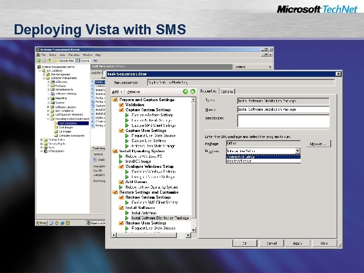 Deploying Vista with SMS