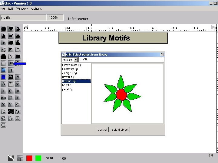 Library Motifs 16