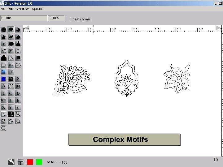 Complex Motifs 19