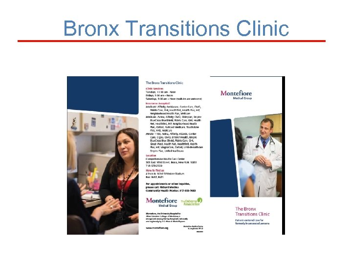 Bronx Transitions Clinic