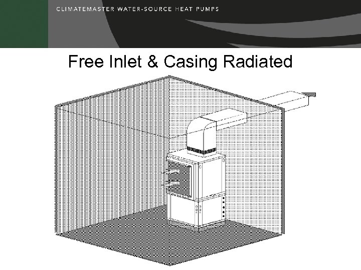 Free Inlet & Casing Radiated