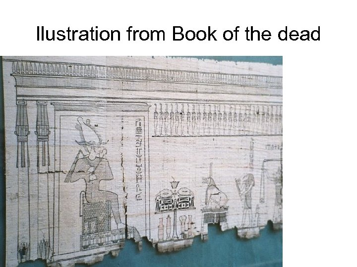 Ilustration from Book of the dead