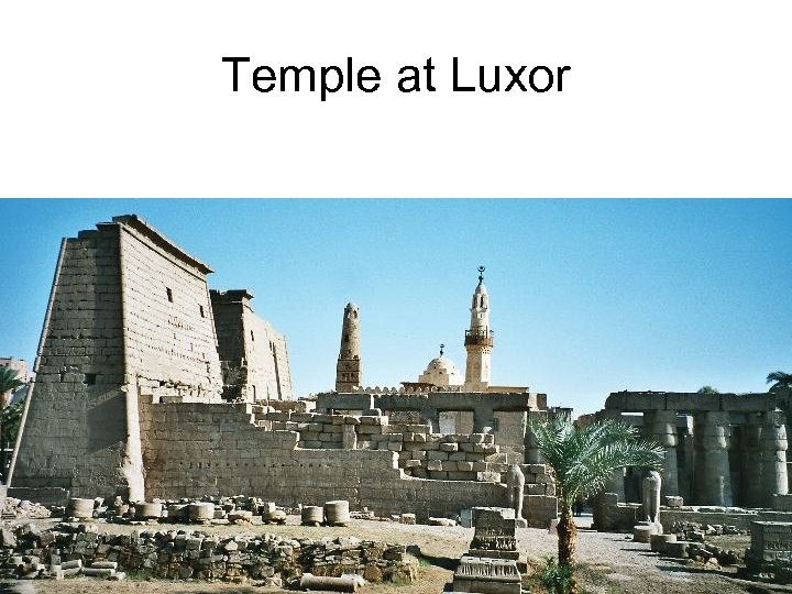 Temple at Luxor
