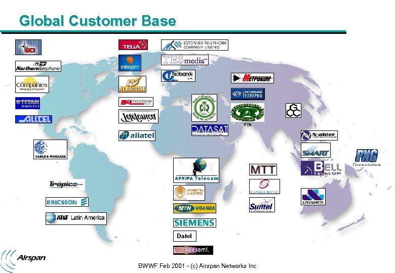 Broadband Wireless World Forum San Francisco February
