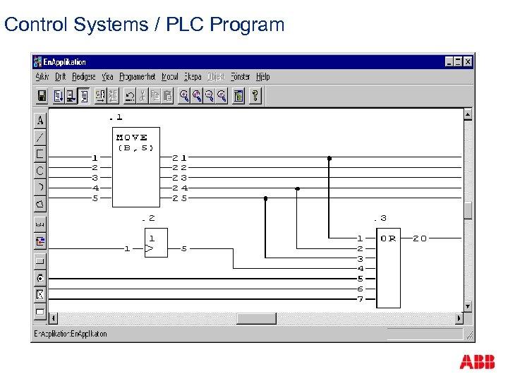 Control Systems / PLC Program