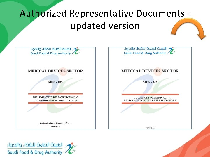 Authorized Representative Documents - updated version 5