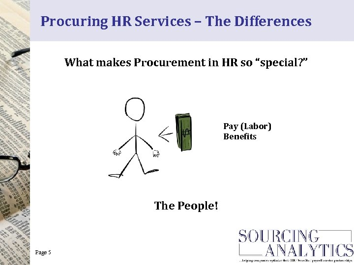 """Procuring HR Services – The Differences What makes Procurement in HR so """"special? """""""