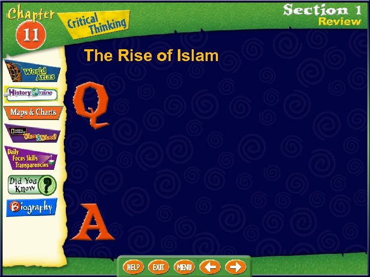 The Rise of Islam
