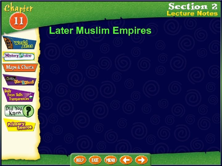 Later Muslim Empires