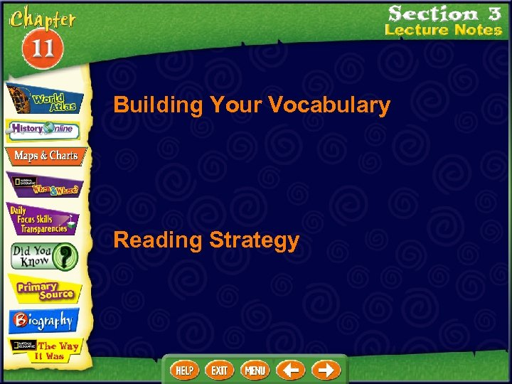 Building Your Vocabulary Reading Strategy