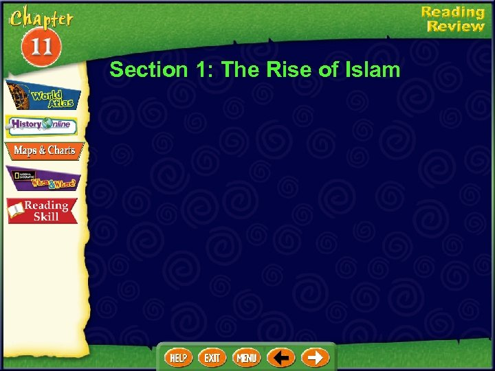 Section 1: The Rise of Islam