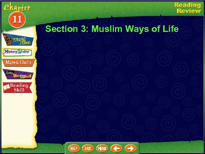 Section 3: Muslim Ways of Life
