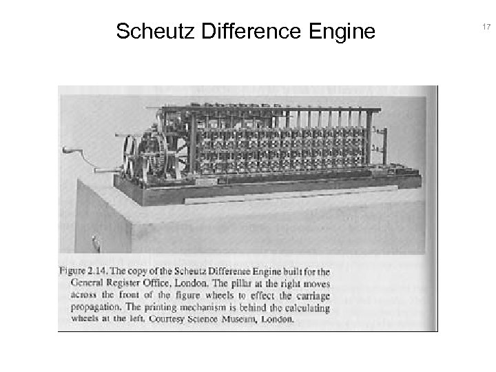 Scheutz Difference Engine 17