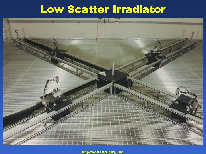 Low Scatter Irradiator Hopewell Designs, Inc.