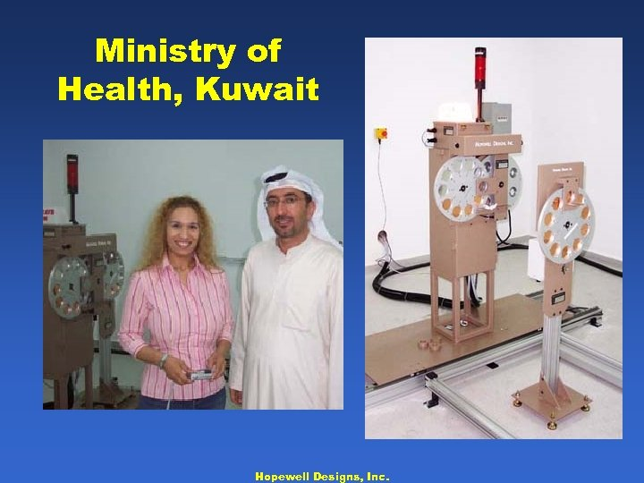 Ministry of Health, Kuwait Hopewell Designs, Inc.