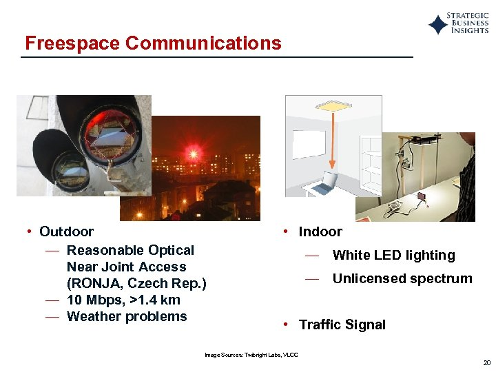 Freespace Communications • Outdoor — Reasonable Optical Near Joint Access (RONJA, Czech Rep. )