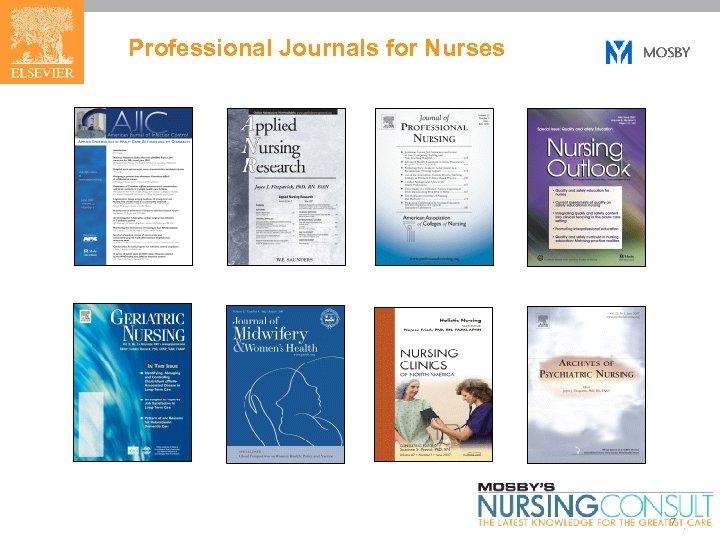 Professional Journals for Nurses 7