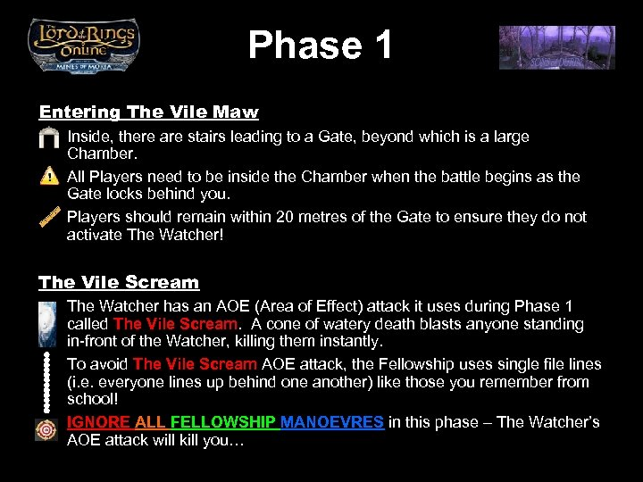 Phase 1 Entering The Vile Maw Inside, there are stairs leading to a Gate,