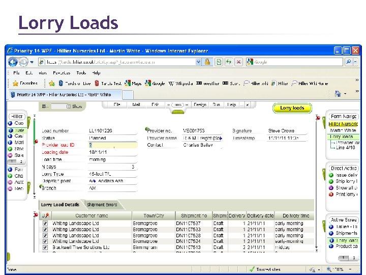 Lorry Loads Page 31 © 2011