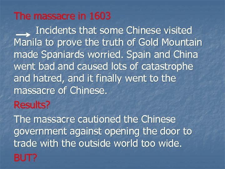 The massacre in 1603 Incidents that some Chinese visited Manila to prove the truth