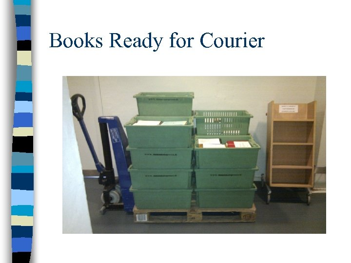 Books Ready for Courier
