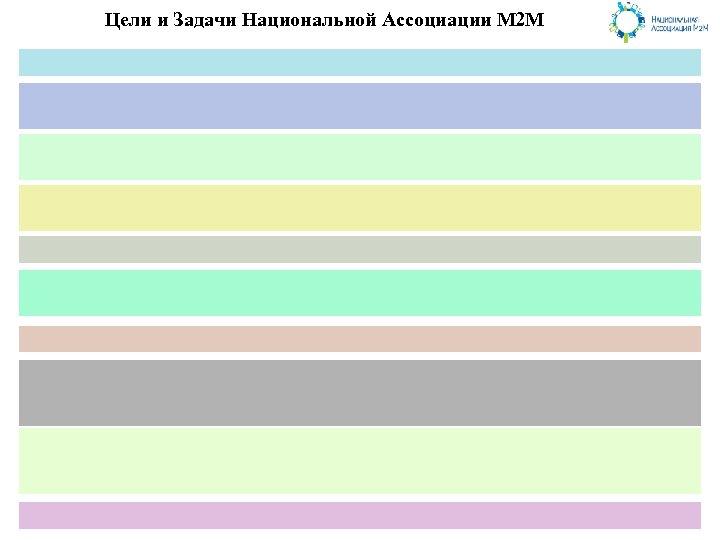 Цели и Задачи Национальной Ассоциации М 2 М