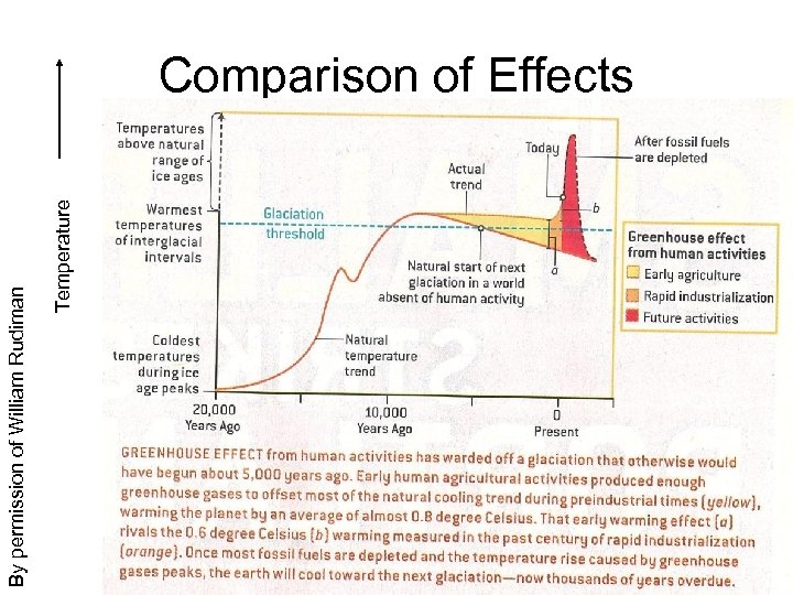 Temperature By permission of William Rudiman Comparison of Effects