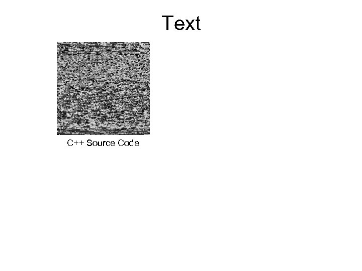 Text C++ Source Code