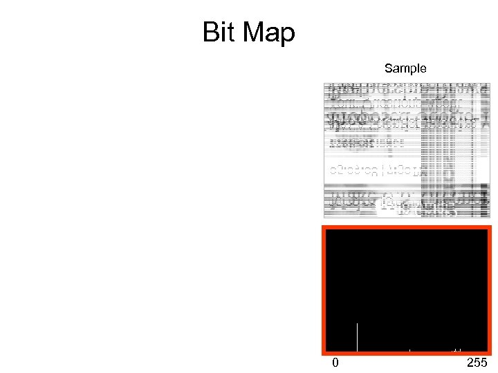 Bit Map Sample 0 255