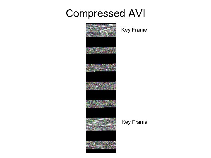 Compressed AVI Key Frame
