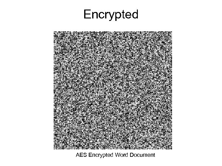 Encrypted AES Encrypted Word Document