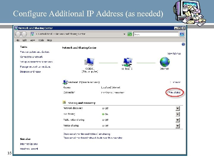 Configure Additional IP Address (as needed) 35