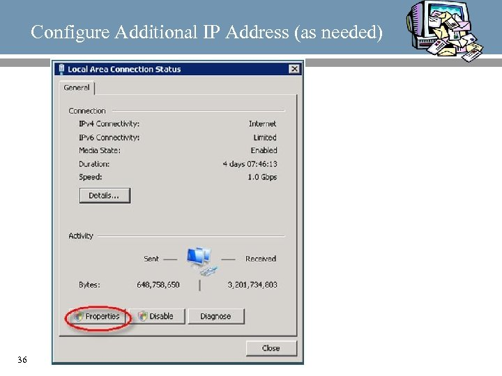 Configure Additional IP Address (as needed) 36
