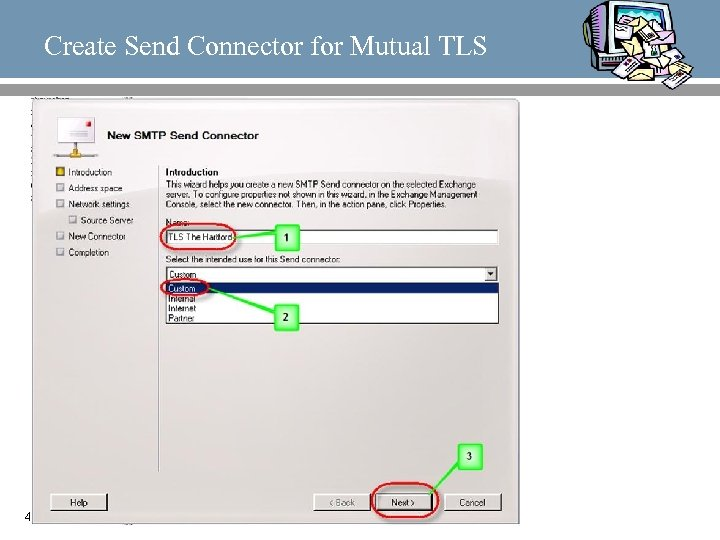 Create Send Connector for Mutual TLS 43