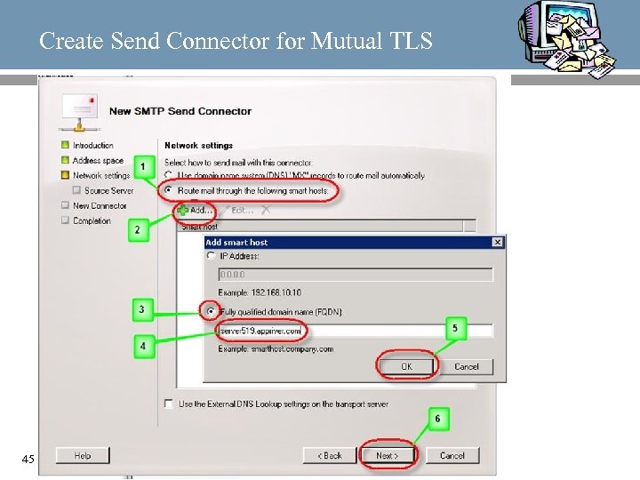 Create Send Connector for Mutual TLS 45
