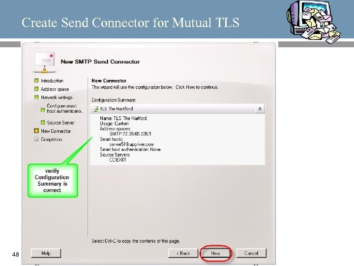 Create Send Connector for Mutual TLS 48