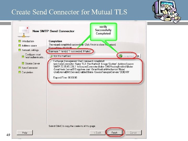 Create Send Connector for Mutual TLS 49