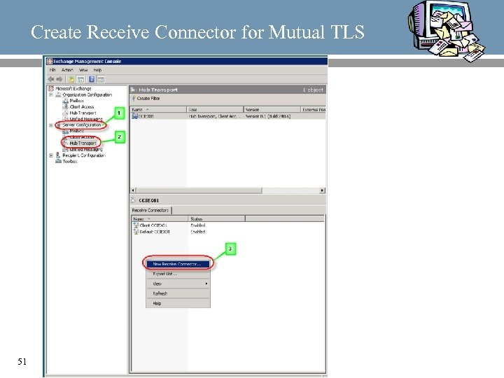 Create Receive Connector for Mutual TLS 51