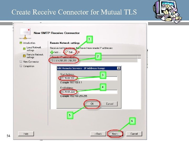 Create Receive Connector for Mutual TLS 54