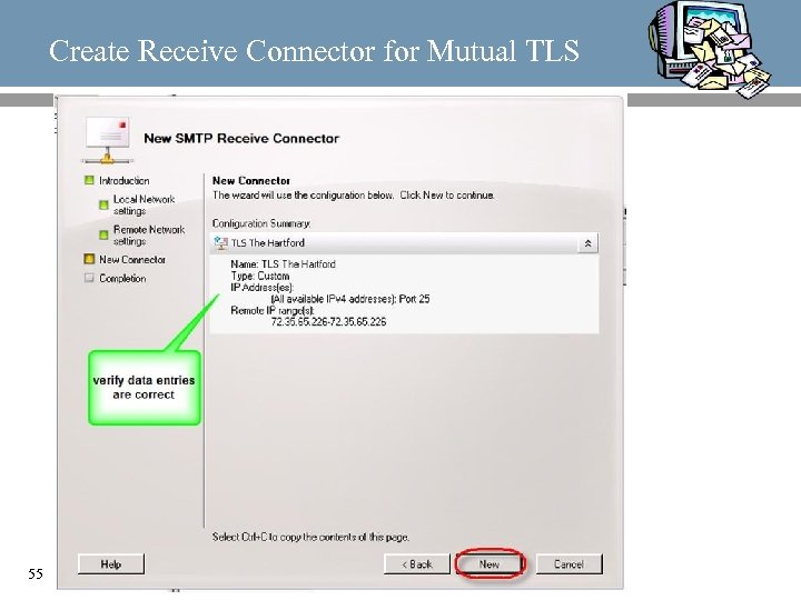 Create Receive Connector for Mutual TLS 55
