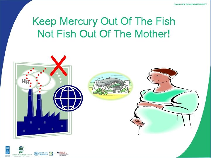 Keep Mercury Out Of The Fish Not Fish Out Of The Mother! Hg