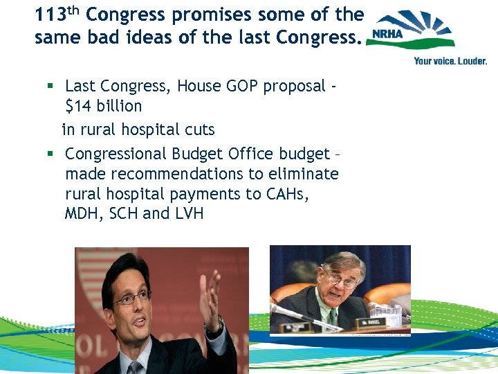 113 th Congress promises some of the same bad ideas of the last Congress.