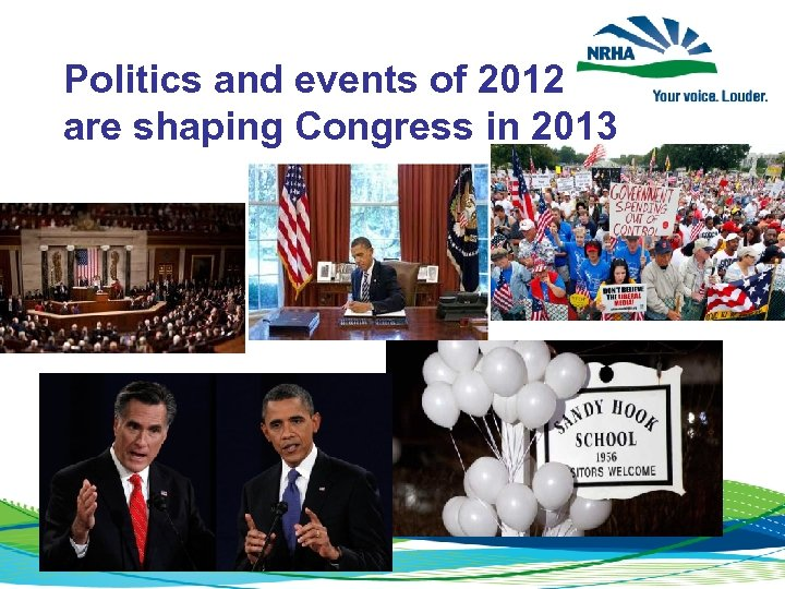 Politics and events of 2012 are shaping Congress in 2013