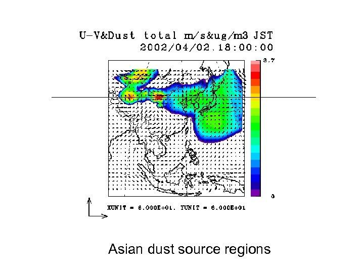 Asian dust source regions