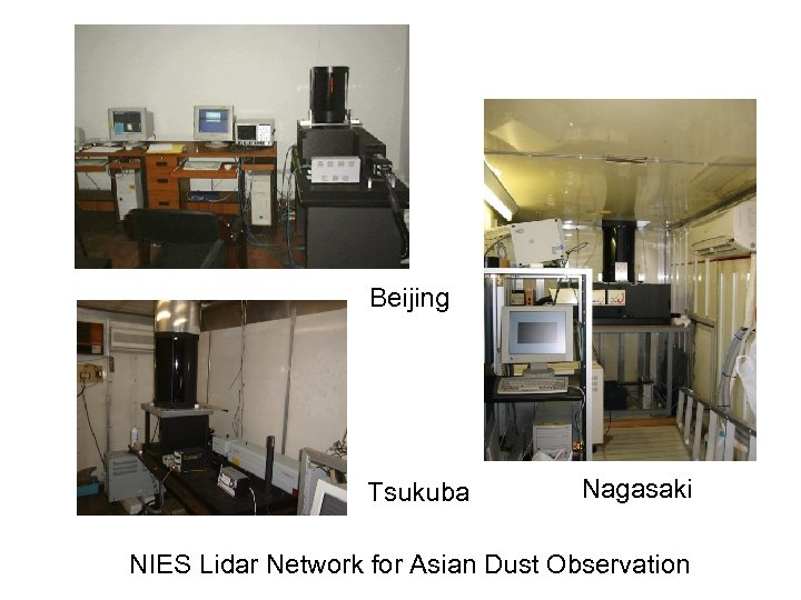 Beijing Tsukuba Nagasaki NIES Lidar Network for Asian Dust Observation