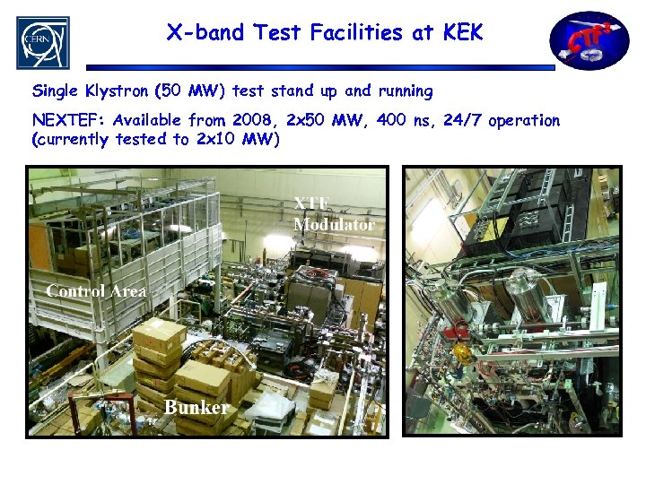 X-band Test Facilities at KEK Single Klystron (50 MW) test stand up and running