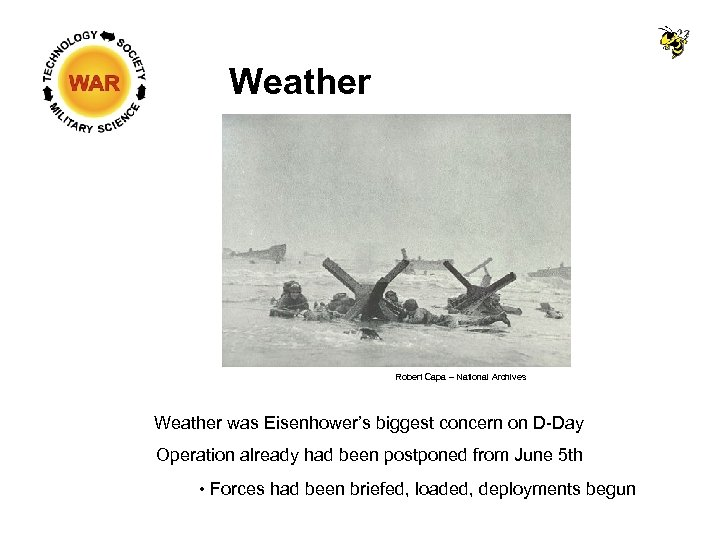 Weather Robert Capa – National Archives Weather was Eisenhower's biggest concern on D-Day Operation
