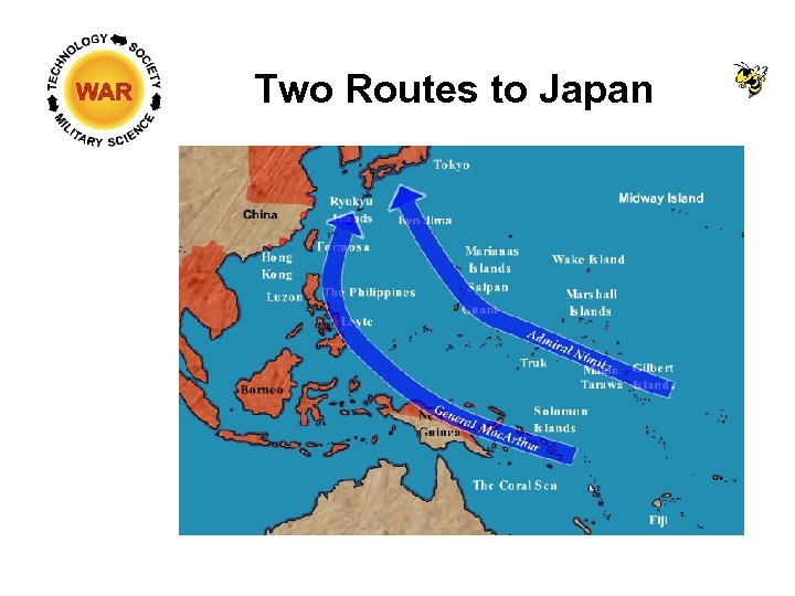 Two Routes to Japan