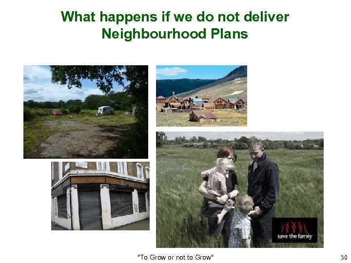 What happens if we do not deliver Neighbourhood Plans