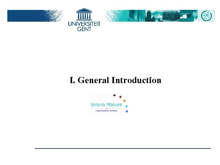 I. General Introduction